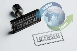 Import Export Code Registration and Licensing
